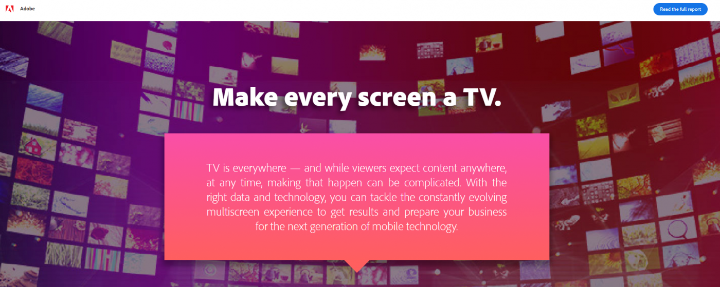 adobe every screen infographic